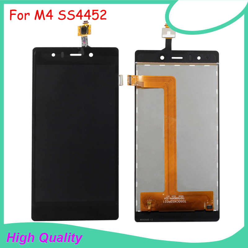 LCD Display Touch Screen For M4 SS4452 4452 TXDT500EKPA-224  Black Color Mobile Phone LCDs Free ShippingLCD Display Touch Screen For M4 SS4452 4452 TXDT500EKPA-224  Black Color Mobile Phone LCDs Free Shipping