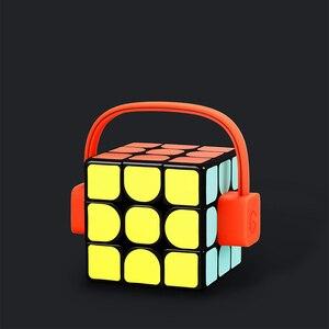 Image 4 - ألعاب تعليمية ملونة للرجال والنساء من Youpin Giiker super smart cube App comntrol عن بعد