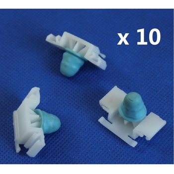 10x For BMW E36 51132251394 Exterior Side Moulding / Door Bumpstrip Fastener Clips - inc M-Tech 1990-2000 image