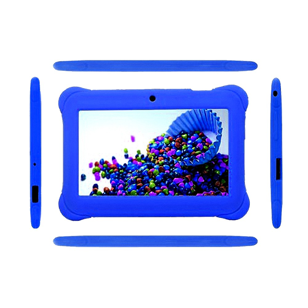 New Popular 7 Inch Tablet For Kids Children Gift Game Apps Android 4.4 WiFi 1.3MP Quad Core 1204*600 Tablet Pc 7 8 9 10 10.1
