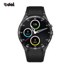 Gold Round Business Android GPS Smart Watch CPU MTK6580 1.39 inch Screen 2.0MP Camera 3G WIFI Smartwatch For Fashion People
