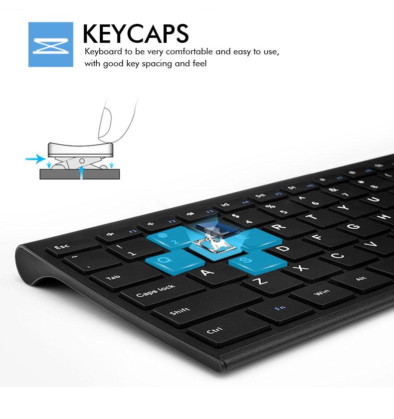 B.O.W Ultra thin Metal wireless Slim keyboard B.O.W Ultra thin Metal wireless Slim keyboard HTB12pLSSXXXXXXMXVXXq6xXFXXXp