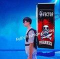 Рюкзак рекламы стеллаж Открытый рекламный баннер плакат держатель стеллаж открытый Рекламный плакат держатель рамы