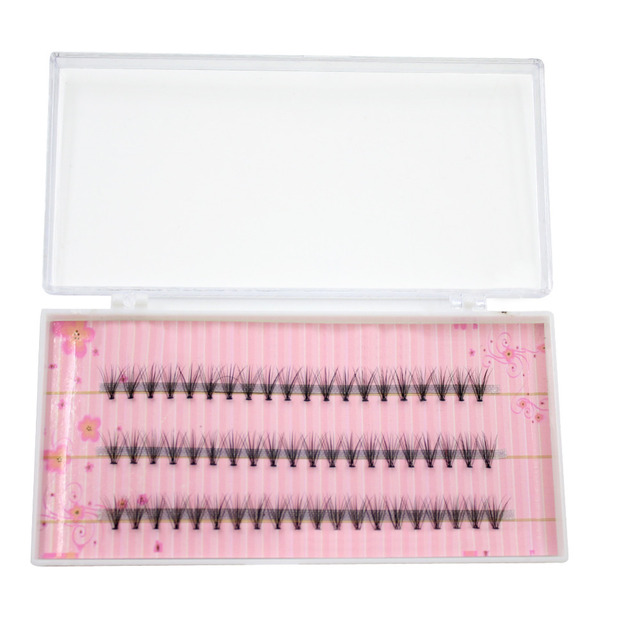 Fashion 60pcs Professional Makeup Individual Cluster Eye Lashes Grafting Fake False Eyelashes 477N 4