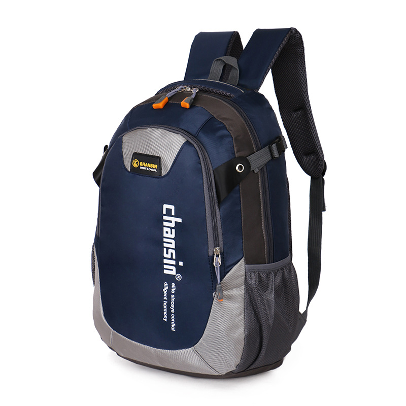Fashion casual double-shoulder travel backpack for women school bag for teenagers Outside printing men backpack sacs a dos