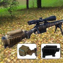 Portable Butt Stock Adjustable Tactical Buttstock Rifle Cheek Rest Holder Pack Holder Carrier Rest Pouch Case