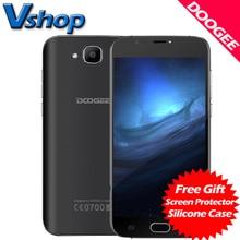 Origine Doogee X9 Mini 3G Mobile Téléphones Android 6.0 1 GB RAM 8 GB ROM Quad Core Smartphone 720 P 5MP Dual SIM 5.0 pouce Cellulaire Téléphone