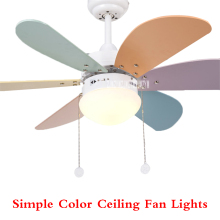 New KF-A0601 Household Fan Chandelier Ceiling lights Restaurant Lights Children Room Modern Simple LED 220v 55W