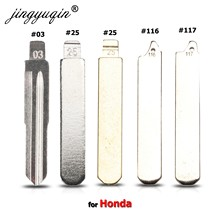 Jingyuqin #117 #116 #25 #03 hoja clave para Honda Accord ajuste odisea CRIDER(2014G/A) plegable KD VVDI JMD coche clave sin grabar