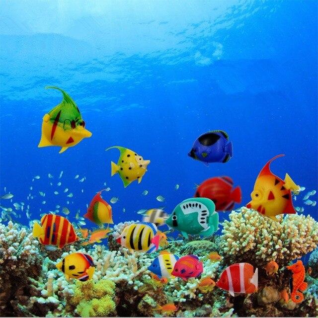 nette 5 teile satz kunststoff schwimmenden tropische fische aquarium dekoration aquarium. Black Bedroom Furniture Sets. Home Design Ideas