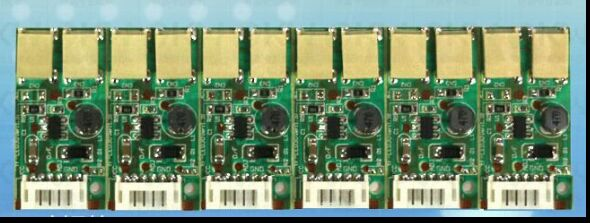 Universal Backlight Inverter LED Double Lamps Constant Current Driver Mini Board 9-25v Input