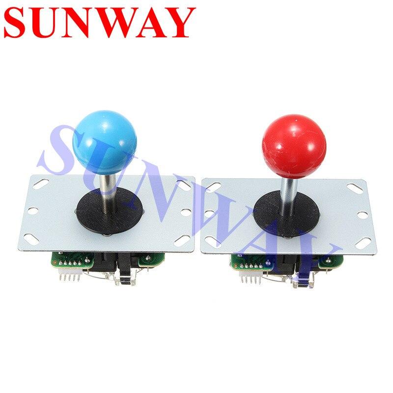 จอยสติ๊กอาเขต DIY Kit Zero Delay USB Controller PC อาเขตจอยสติ๊ก + ปุ่ม + สายรัดสำหรับ MAME & Raspberry Pi 3B-ใน จอยสติ๊ก จาก อุปกรณ์อิเล็กทรอนิกส์ บน AliExpress - 11.11_สิบเอ็ด สิบเอ็ดวันคนโสด 2