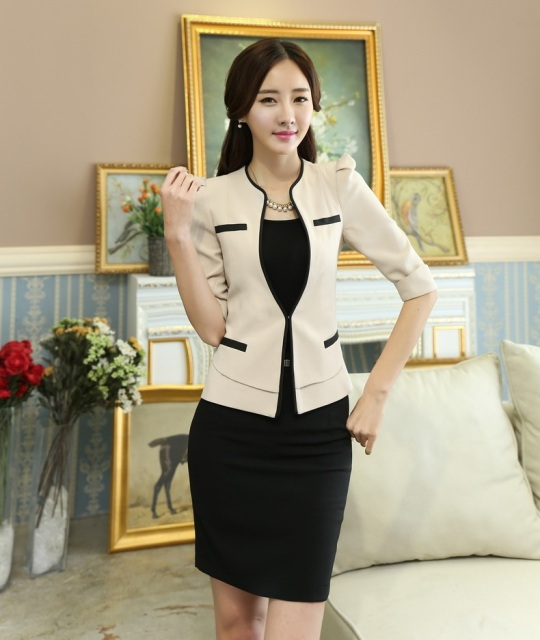 Aliexpress.com : Buy Formal Female Skirt Suits Women Work Wear ...