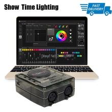 Powerful mini dmx controller Daslight DVC4 DMX Software stage light controller DJ Stage Light USB Lighting Interface цена 2017