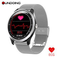 RUNDOING N58 ECG PPG smart watch with electrocardiograph ecg display,holter ecg heart rate monitor blood pressure smartwatch цена