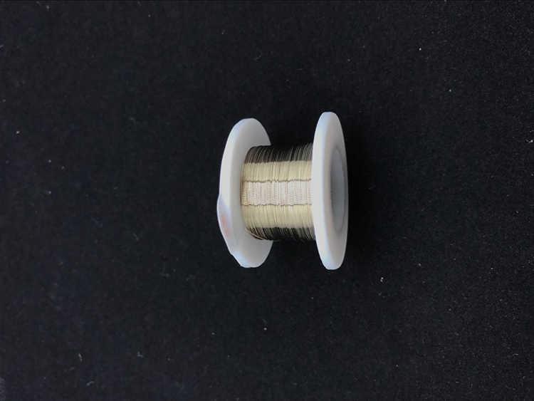 الذهب سلك الموليبدينوم 0.08 مللي متر 100 متر LCD قطع الزجاج من خط الفصل آيفون لسامسونج ل HTC ل شاومي قطع الزجاج