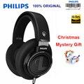 Philips SHP9500 профессиональные наушники с 3 м длинным проводом шумоподавления наушники для xiaomi SamSung S8 MP3 официальный тест
