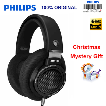 Philips SHP9500 Professional Earphone with Microphone Wire Controll 3m Long Wire Headphones for SamSung S8 MP3 Official Test fittings and braided hose