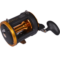 HAIBO Sword 640 metal cast drum reel bait casting reel 6 bearings