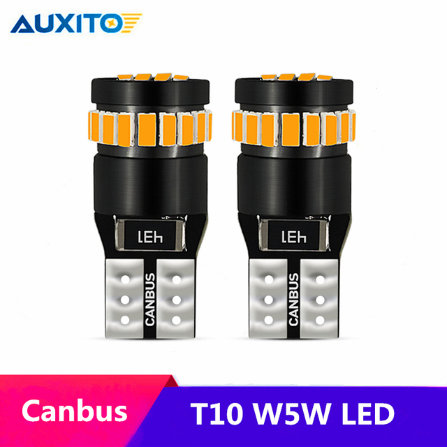 US $2 85 24% OFF|2pcs T10 W5W LED Canbus 168 194 Clearance Parking Lights  For Mercedes Benz W211 W203 W204 W210 W205 W124 W214 W220 W164 C E SLK-in