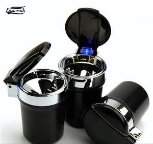 Универсальный Автомобильный светодиодный держатель пепельницы для сигарет, подарок для BMW MINI Ccooper F56 F55 F54 F60 R55 R56 R59 R60 R61 ONE S Clubman