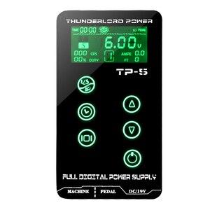 Image 3 - Tattoo Power Supply HP 2 HURRICAN UPGRADE Touch Screen TP 5 Intelligent Digital LCD Makeup Dual Tattoo Power Supplies set