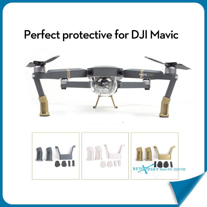 DJI Mavic PRO Landing Gear Extended Foot Safe Stand Landing Bracket Protector for DJI Mavic PRO