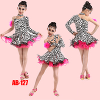 Children S Latin Dance Costumes Girls Latin Dance Costume Contest Grading Performances Of New Clothes And