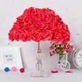 Quarto Decorativo vermelho luz rosa Valentine Presentes de casamento Candeeiro de Mesa LED Moda lâmpada de Mesa Lâmpada de Luz Sala de estar luzes de Casamento