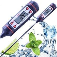 Практичный электронный цифровой термометр, портативный термометр для приготовления пищи, барбекю, выпечки мяса, молока, датчик температуры, бытовые кухонные инструменты