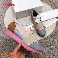 FMZXG/Женская обувь на плоской подошве из натуральной кожи, женские весенне осенние модные эспадрильи, женская обувь на плоской подошве, хит п