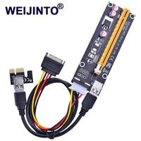 10pcs PCI E Riser PCI E Express 1X To 16X Riser Card 0 6M USB 3