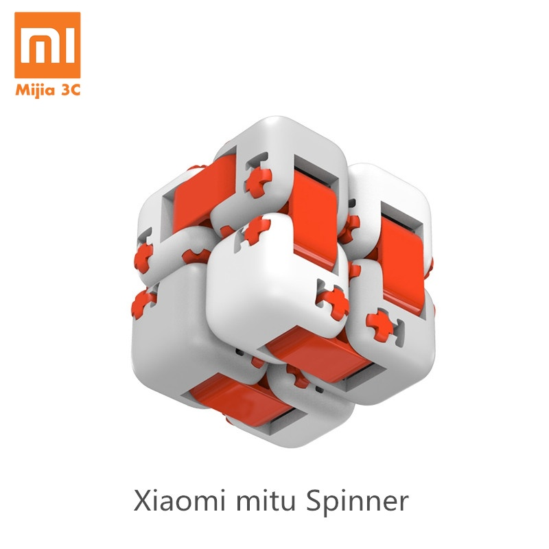 Original Xiaomi Mitu Cube Spinner Finger Bricks Mini Intelligence Toys Smart Finger Toys Portable Xiaomi Smart Home Gift For Kid