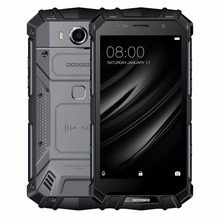 "DOOGEE S60 לייט נייד טלפון IP68 Waterpoof 5.2 ""FHD 4 GB + 32 GB MT6750T אוקטה ליבות 16MP טביעת אצבע 5580 mAh אנדרואיד 7.0 Smartphone"