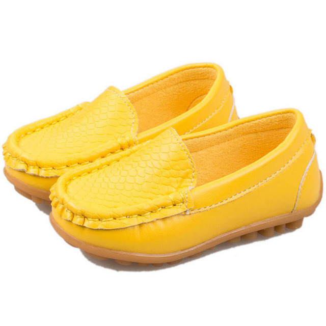 New Style Spring Autumn Slip on Toddlers Loafers Shoes Casual Children Girls First Walkers Shoes Flats Boat Shoes For Kids