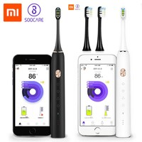 Xiaomi Mi Home Soocare X3 Soocas Waterproof Electric Toothbrush Wireless Charge Sonic Rechargable Ultrasonic Toothbrush Newest
