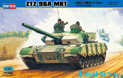 Hobby Boss MODEL 1/35 SCALE 82464 ZTZ96 MBT plastic model kit