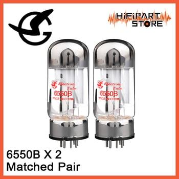 2 uds Shuguang 6550B par de válvula de repuesto combinado EH JJ svtlana 6550 KT88 EL34