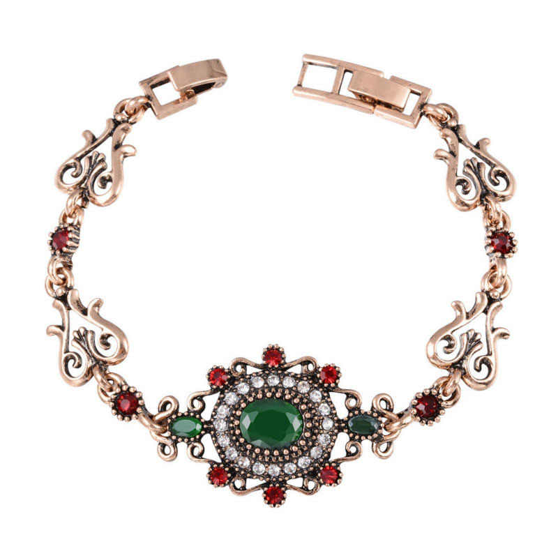 Joyme Kristal Grosir Kekasih Gelang & Gelang Bohemian Emas Gelang AliExpress Turki Tibet Perhiasan Pulseras