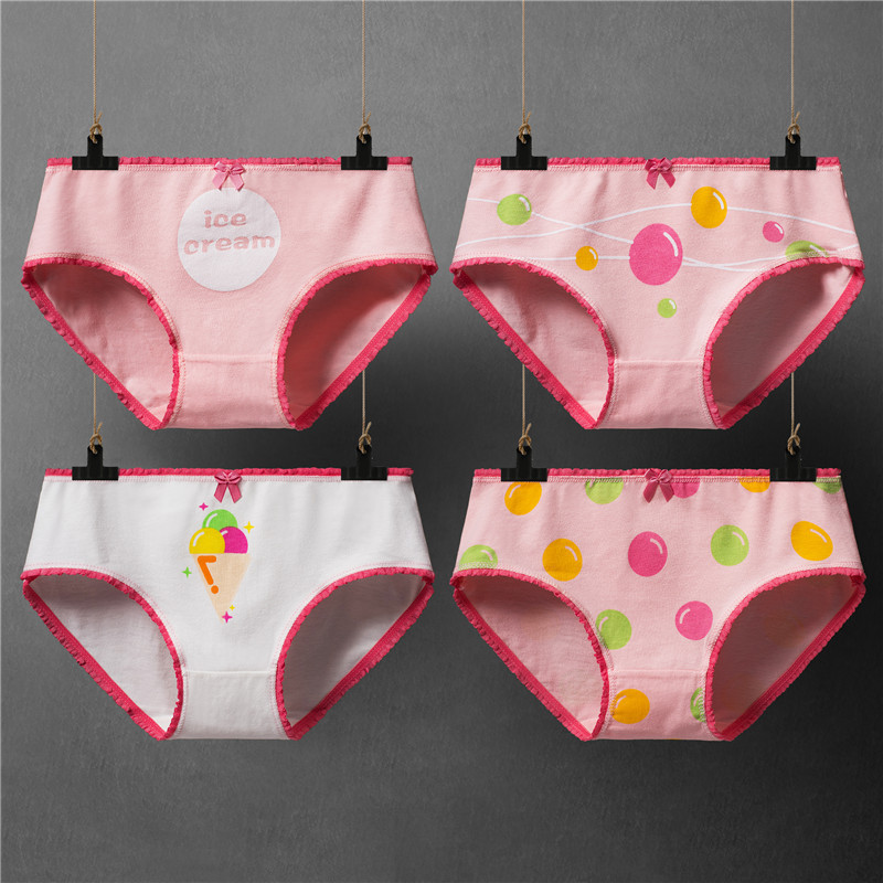 Women's Briefs Cotton Lovely   Panties   Girl Sexy Lingerie Underwear Ladies Comfortable Underpants   Panty   for Female Calcinha 2018
