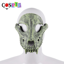 Cospty มาสคาร่า Disfraces เทศกาลวันแห่งความตายฮาโลวีน Masquerade พรรค Creepy สยองขวัญ Terror น่ากลัวเครื่องแต่งกาย Skull Mask