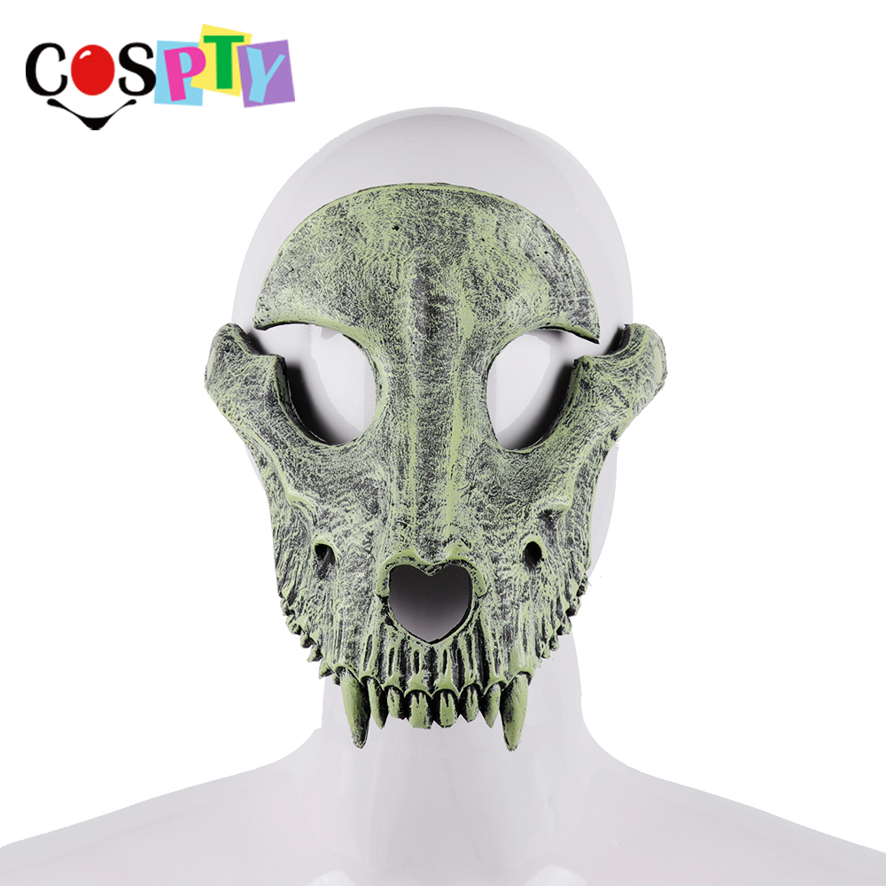 Cospty Mascaras Disfraces Festival Day of The Dead Halloween Party Masquerade Creepy Horror Terror Scary Costume Skull MaskBoys Costume Accessories   -