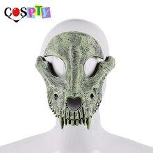 Cospty Mascaras Disfraces festiwal dzień zmarłych impreza z okazji Halloween Masquerade Creepy Horror Terror przerażający kostium maska czaszki