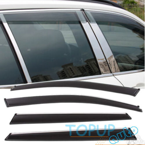 WINDOW VISOR WEATHER SHIELD WEATHERSHIELD RAIN DEFLECTORS FIT FOR BMW X1 2009 2010 2011 2012 2013 2014 E84WINDOW VISOR WEATHER SHIELD WEATHERSHIELD RAIN DEFLECTORS FIT FOR BMW X1 2009 2010 2011 2012 2013 2014 E84