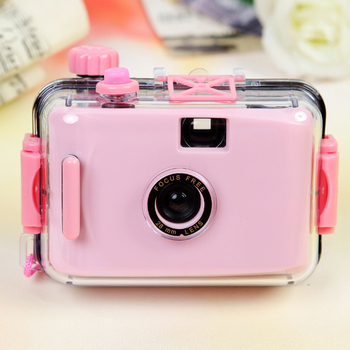 Children's Camera Camara Non-disposable Camera Film Camera LOMO Camera Waterproof and Shockproof (no Battery Required)