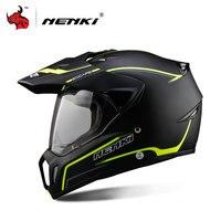 NENKI Full Face Motorcycle Helmet Motocross Helmet ATV Moto Helmet Cross Downhill Off Road Motorcycle Helmet