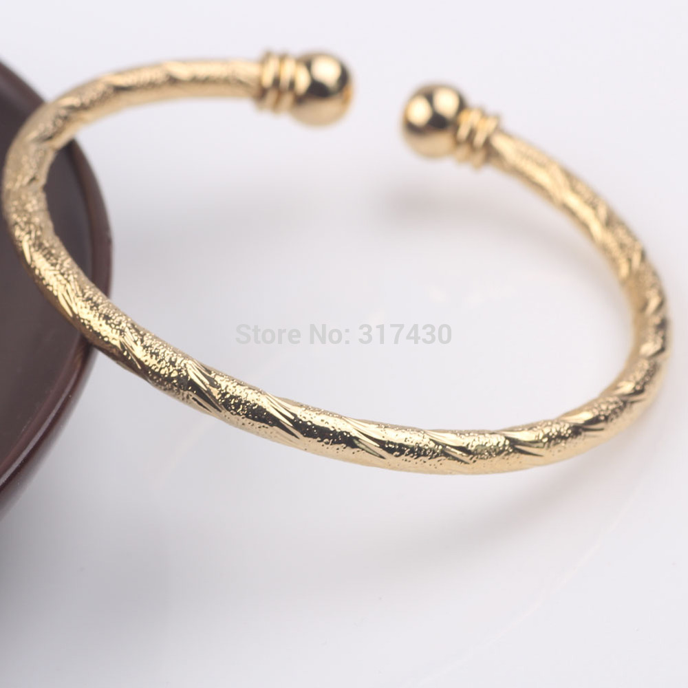 bracelet jacknjewel plain bangle yellow bangles lovely com gold