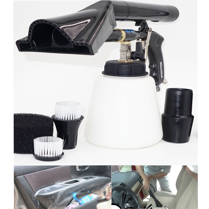 z-020 new Generation2 tornado black high quality big power durable tornado gun for car washer(1whole set complete)