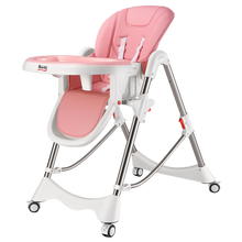 Multi-function Portable Infant Chair Seat Practical Highchair Dinner Chair Kids Foldable Baby Stool Restaurant For 0-4 T Baby(China)