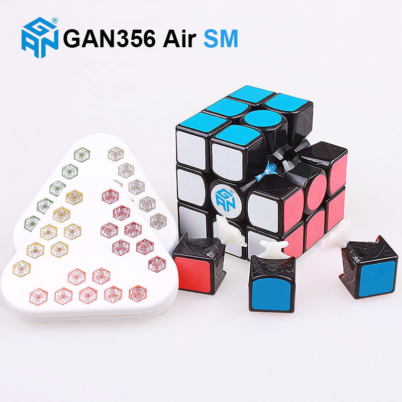 GAN 356 Air SM 3x3x3 master magnetic puzzle magic cube professional gans speed cube magico gan356 magnets toys for children